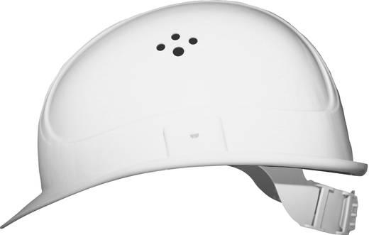 Munkavédelmi sisak, fejvédő 4 pontos EN 397 Fehér Voss Helme 2680 PE