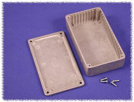 Hammond Electronics alumínium öntvény dobozok peremmel, 1590UF 119.5 x 119.5 x 59 mm, natúr