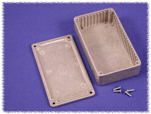 Hammond Electronics alumínium öntvény dobozok peremmel, 1590UFBK 119.5 x 119.5 x 59 mm, fekete