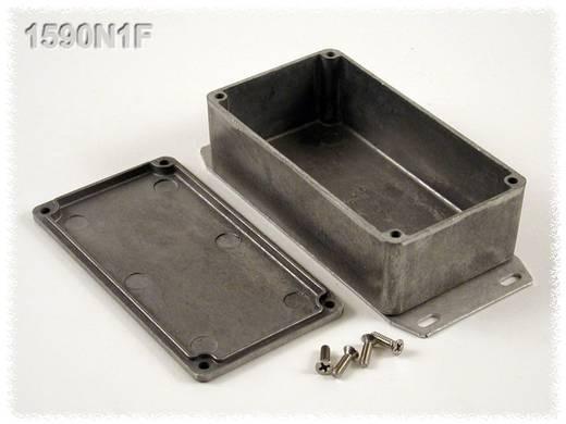 Hammond Electronics alumínium öntvény dobozok peremmel, 1590N1FBK 121.1 x 66 x 39.3 mm, fekete