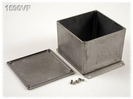 Hammond Electronics alumínium öntvény dobozok peremmel, 1590VFBK 119.5 x 119.5 x 94 mm, fekete