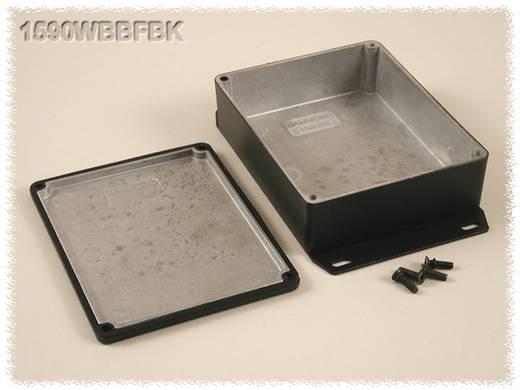 Hammond Electronics öntvény dobozok, 1590-es sorozat 1590WBBSFBK alumínium (H x Sz x Ma) 120 x 94 x 42 mm, fekete