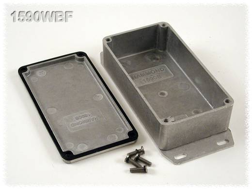 Hammond Electronics öntvény dobozok, 1590-es sorozat 1590WBF alumínium (H x Sz x Ma) 111.5 x 59.5 x 31 mm, natúr