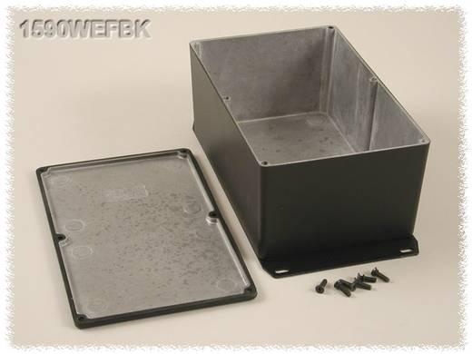 Hammond Electronics öntvény dobozok, 1590-es sorozat 1590WEFBK alumínium (H x Sz x Ma) 187.5 x 119.5 x 82 mm, fekete
