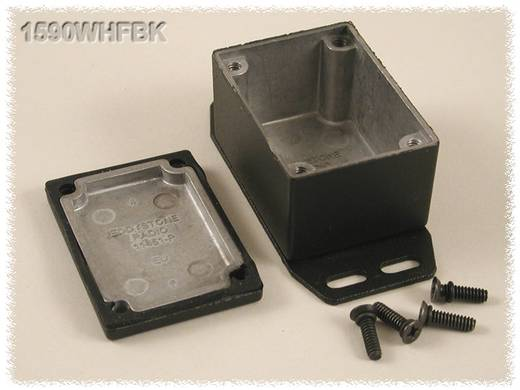 Hammond Electronics öntvény dobozok, 1590-es sorozat 1590WHFBK alumínium (H x Sz x Ma) 52.5 x 38 x 31 mm, fekete