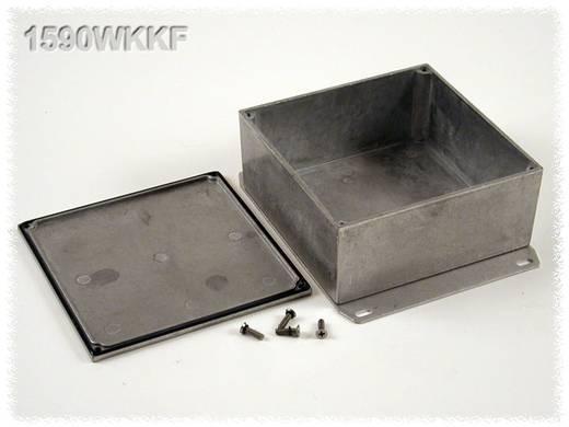 Hammond Electronics öntvény dobozok, 1590-es sorozat 1590WKKF alumínium (H x Sz x Ma) 125 x 125 x 57 mm, natúr