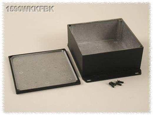 Hammond Electronics öntvény dobozok, 1590-es sorozat 1590WKKFBK alumínium (H x Sz x Ma) 125 x 125 x 57 mm, fekete