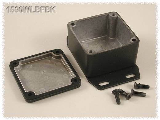 Hammond Electronics öntvény dobozok, 1590-es sorozat 1590WLBFBK alumínium (H x Sz x Ma) 50.5 x 50.5 x 31 mm, fekete