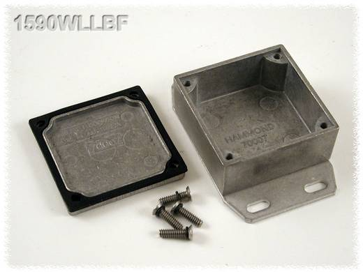 Hammond Electronics öntvény dobozok, 1590-es sorozat 1590WLLBF alumínium (H x Sz x Ma) 50 x 50 x 25 mm, natúr