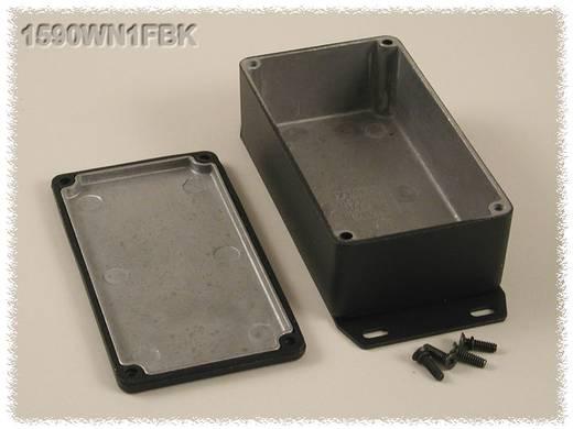 Hammond Electronics öntvény dobozok, 1590-es sorozat 1590WNFBK alumínium (H x Sz x Ma) 121 x 66 x 40 mm, fekete