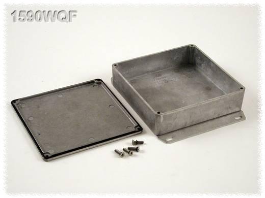 Hammond Electronics öntvény dobozok, 1590-es sorozat 1590WQF alumínium (H x Sz x Ma) 120 x 120 x 34 mm, natúr
