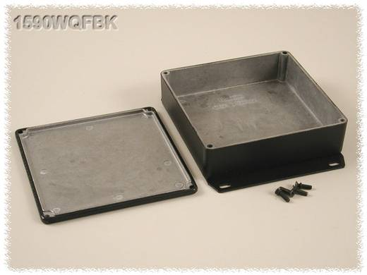 Hammond Electronics öntvény dobozok, 1590-es sorozat 1590WQFBK alumínium (H x Sz x Ma) 120 x 120 x 34 mm, fekete