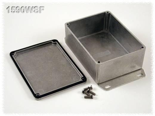 Hammond Electronics öntvény dobozok, 1590-es sorozat 1590WSF alumínium (H x Sz x Ma) 110.5 x 81.5 x 44 mm, natúr