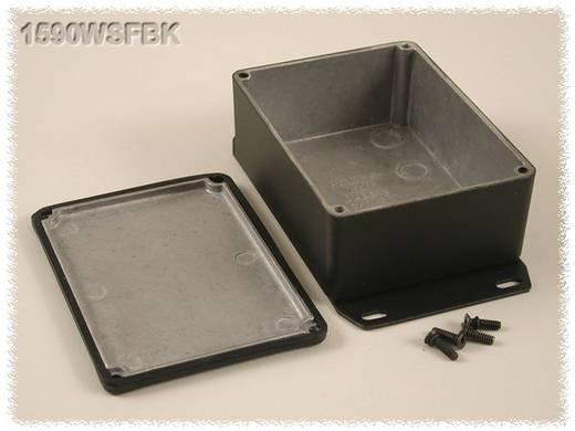 Hammond Electronics öntvény dobozok, 1590-es sorozat 1590WSFBK alumínium (H x Sz x Ma) 110.5 x 81.5 x 44 mm, fekete