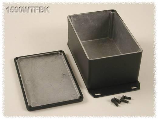 Hammond Electronics öntvény dobozok, 1590-es sorozat 1590WTFBK alumínium (H x Sz x Ma) 120.5 x 79.5 x 59 mm, fekete