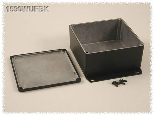 Hammond Electronics öntvény dobozok, 1590-es sorozat 1590WUFBK alumínium (H x Sz x Ma) 119.5 x 119.5 x 59 mm, fekete