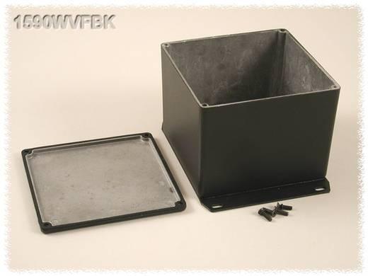 Hammond Electronics öntvény dobozok, 1590-es sorozat 1590WVFBK alumínium (H x Sz x Ma) 119.5 x 119.5 x 94 mm, fekete