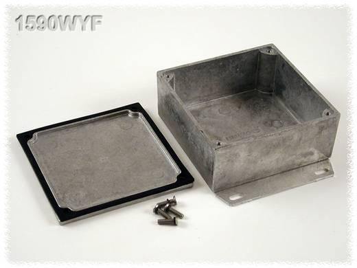 Hammond Electronics öntvény dobozok, 1590-es sorozat 1590WYF alumínium (H x Sz x Ma) 92 x 92 x 42 mm, natúr