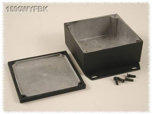Hammond Electronics öntvény dobozok, 1590-es sorozat 1590WYFBK alumínium (H x Sz x Ma) 92 x 92 x 42 mm, fekete