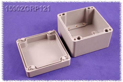 Hammond Electronics műanyag doboz, 590ZGRP sorozat 1590ZGRP121 poliészter (H x Sz x Ma) 120 x 122 x 91 mm, szürke