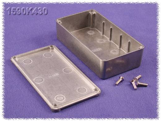 Univerzális műszerdoboz Cink, natúr 112 x 62 x 31 Hammond Electronics 1590K430 1 db