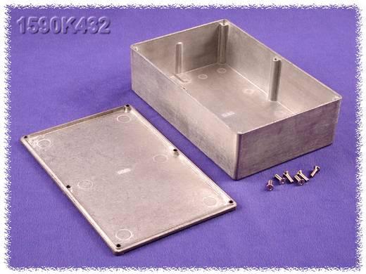 Univerzális műszerház Hammond Electronics 1590K432 Cink (H x Sz x Ma) 188 x 120 x 56 mm, natúr