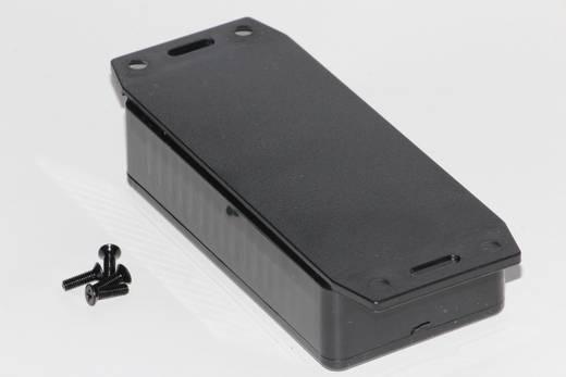 Univerzális műszerdoboz ABS, fekete 100 x 50 x 25 Hammond Electronics 1591AF2BK 1 db
