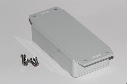 Univerzális műszerdoboz ABS, szürke 100 x 50 x 25 Hammond Electronics 1591AF2GY 1 db