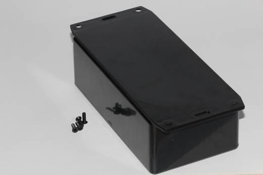 Univerzális műszerház Hammond Electronics 1591DF2BK ABS (lángálló) (H x Sz x Ma) 150 x 80 x 50 mm, fekete