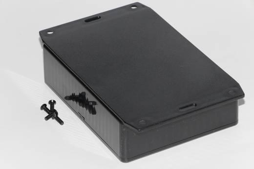 Univerzális műszerdoboz ABS, fekete 121 x 94 x 34 Hammond Electronics 1591GF2BK 1 db