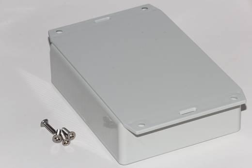 Univerzális műszerdoboz ABS, fekete 165 x 71 x 29 Hammond Electronics 1591HF2BK 1 db