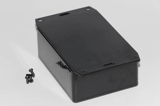 Univerzális műszerház Hammond Electronics 1591SF2BK ABS (lángálló) (H x Sz x Ma) 110 x 82 x 44 mm, fekete