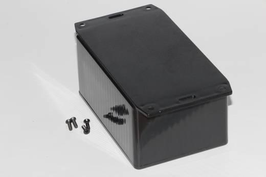 Univerzális műszerház Hammond Electronics 1591TF2BK ABS (lángálló) (H x Sz x Ma) 120 x 80 x 59 mm, fekete