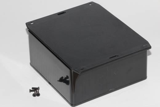 Univerzális műszerház Hammond Electronics 1591UF2BK ABS (lángálló) (H x Sz x Ma) 120 x 120 x 59 mm, fekete