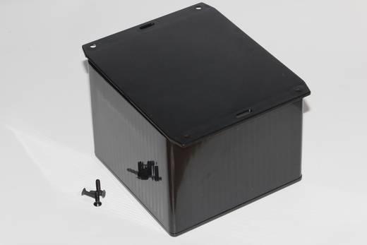 Univerzális műszerház Hammond Electronics 1591VF2BK ABS (lángálló) (H x Sz x Ma) 120 x 120 x 94 mm, fekete