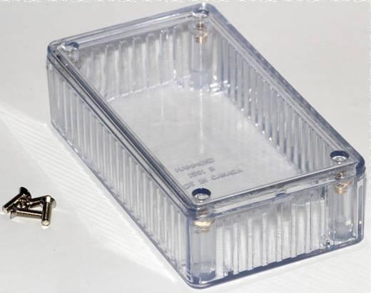 Univerzális műszerdoboz Polikarbonát, natúr 112 x 62 x 31 Hammond Electronics 1591BTCL 1 db