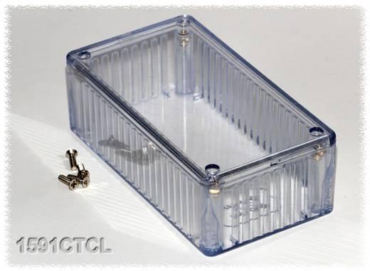 Univerzális műszerdoboz Polikarbonát, natúr 120 x 65 x 40 Hammond Electronics 1591CTCL 1 db