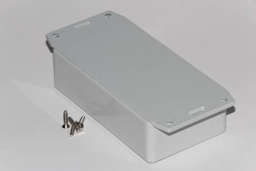 Univerzális műszerdoboz ABS, szürke 112 x 62 x 31 Hammond Electronics 1591BF2SGY 1 db