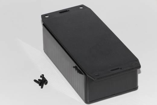 Univerzális műszerdoboz ABS, fekete 120 x 65 x 40 Hammond Electronics 1591CF2SBK 1 db