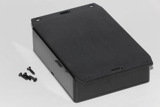 Univerzális műszerház Hammond Electronics 1591EF2SBK ABS (H x Sz x Ma) 191 x 110 x 61 mm, fekete