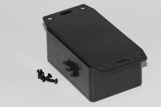 Univerzális műszerdoboz ABS, fekete 85 x 56 x 39 Hammond Electronics 1591LF2SBK 1 db