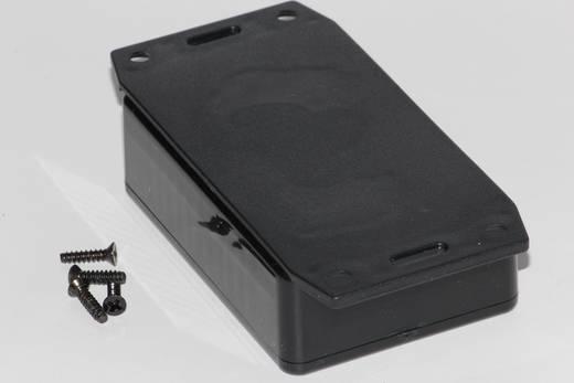 Univerzális műszerdoboz ABS, fekete 85 x 56 x 26 Hammond Electronics 1591MF2SBK 1 db