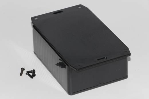 Univerzális műszerdoboz ABS, fekete 110 x 82 x 44 Hammond Electronics 1591SF2SBK 1 db