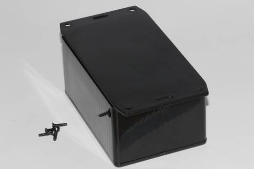 Univerzális műszerdoboz ABS, fekete 120 x 80 x 59 Hammond Electronics 1591TF2SBK 1 db