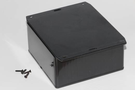 Univerzális műszerdoboz ABS, fekete 120 x 120 x 59 Hammond Electronics 1591UF2SBK 1 db