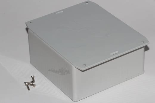 Univerzális műszerdoboz ABS, szürke 120 x 120 x 59 Hammond Electronics 1591UF2SGY 1 db