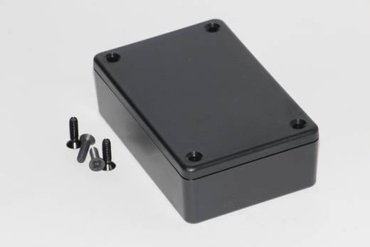 Univerzális műszerdoboz ABS, fekete 85 x 56 x 25 Hammond Electronics 1591XXMBK 1 db