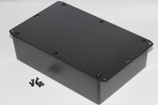 Univerzális műszerház Hammond Electronics 1591XXFFLBK ABS (lángálló) (H x Sz x Ma) 221 x 150 x 64 mm, fekete
