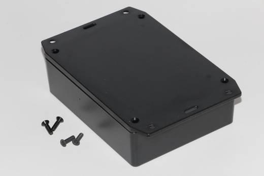 Univerzális műszerdoboz ABS, fekete 121 x 94 x 34 Hammond Electronics 1591XXGFLBK 1 db