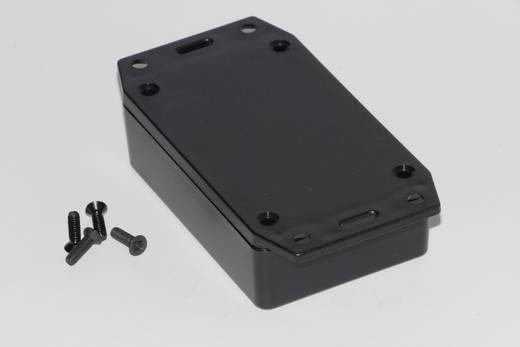 Univerzális műszerdoboz ABS, fekete 85 x 56 x 25 Hammond Electronics 1591XXMFLBK 1 db